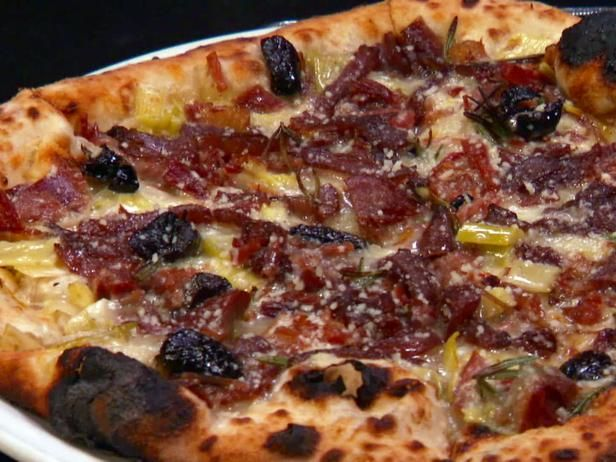Dough Pulled Prosciutto Pizza Recipe With Images Food