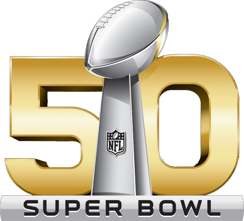 Super Bowl Alternate Logo (2015) - Super Bowl 50 National Logo ...