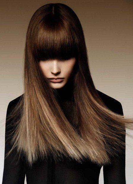 Шатуш на темные волосы в 2020 г. | Укладка длинных волос ...