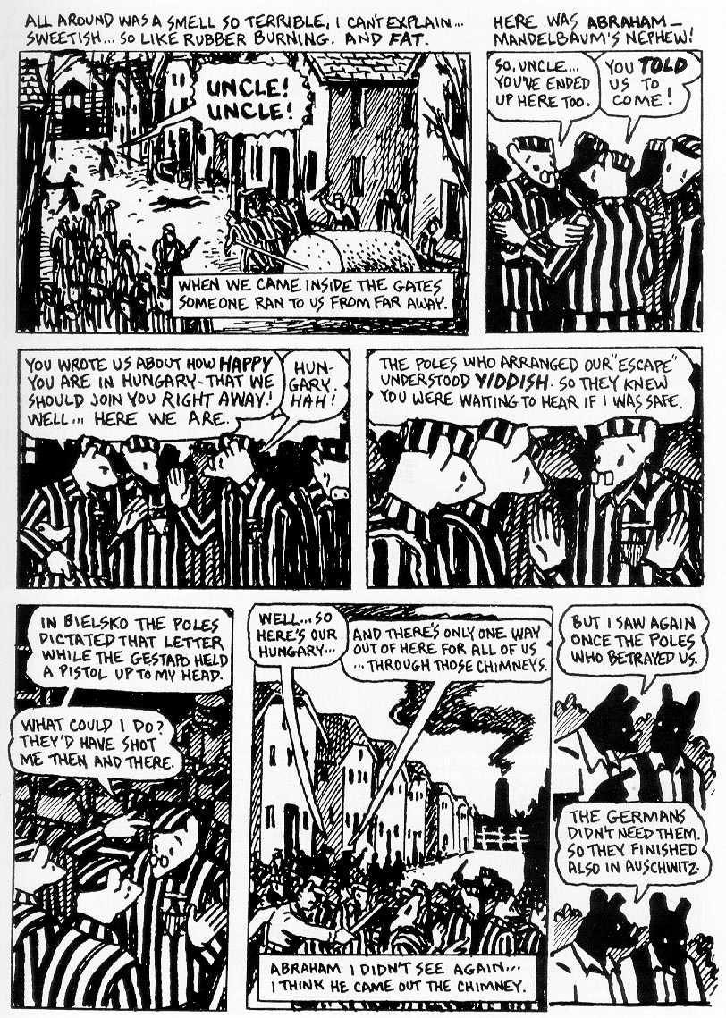 The Comic Format of Spiegelmans Books Maus