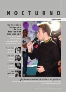 """Reseña en la Revista """"Tenerife de Noche"""""""