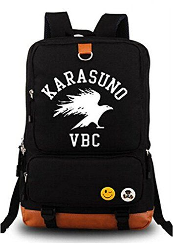 Bromeo Haikyuu Anime Karikatur Leuchtend Backpack Rucksac... https   www. 7892fd08948dd