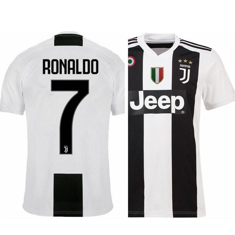 Ronaldo Juventus Home Kit Jersey 2018 2019  63a614028