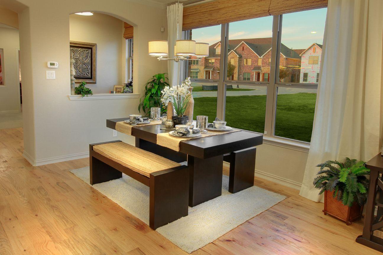 Living Room - Brick Row community (Richardson, TX) | Living Rooms by ...