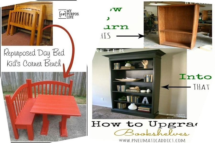 Repurposing Ideas Old Furniture Old Furniture Design Ideas