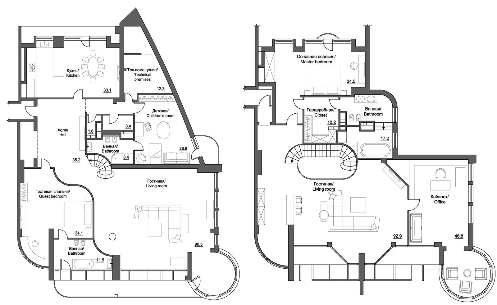 penthouses for sale floor plans   Penthouse Apartment ...