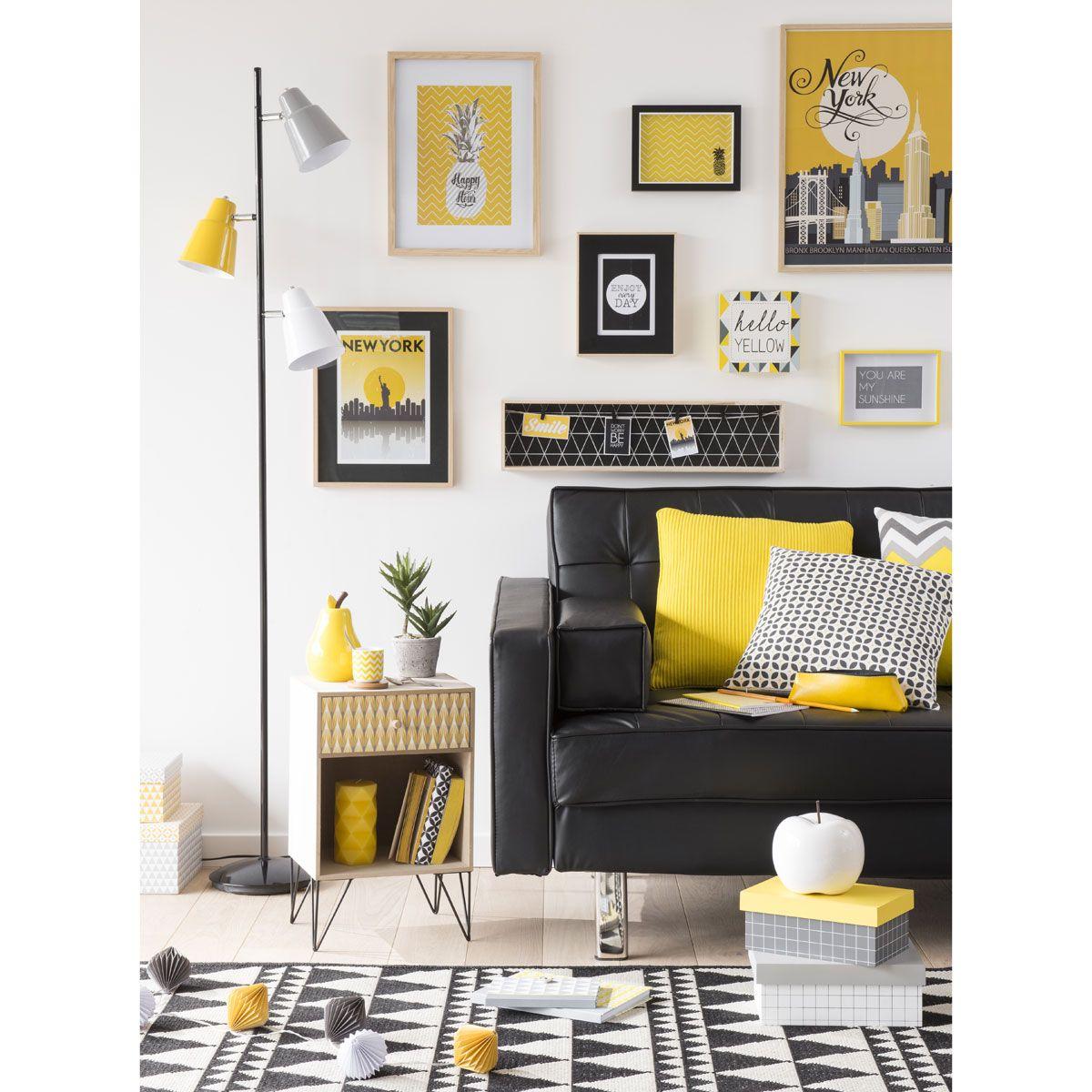 cadre photo en bois noir 22 x 27 cm will maisons du monde ameublement deco pinterest. Black Bedroom Furniture Sets. Home Design Ideas