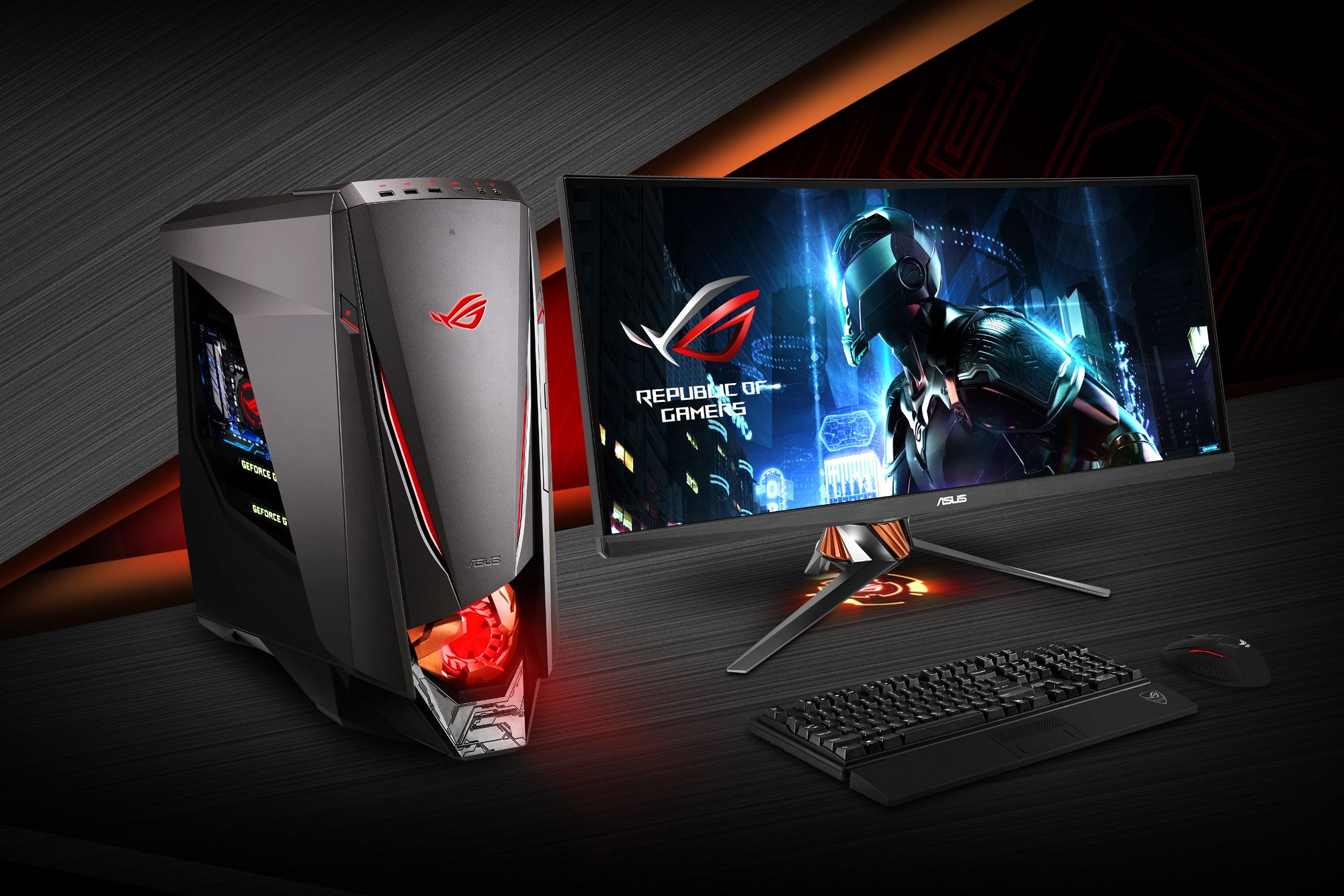 Asus ROG GT51CA Specifications overview Budget gaming pc
