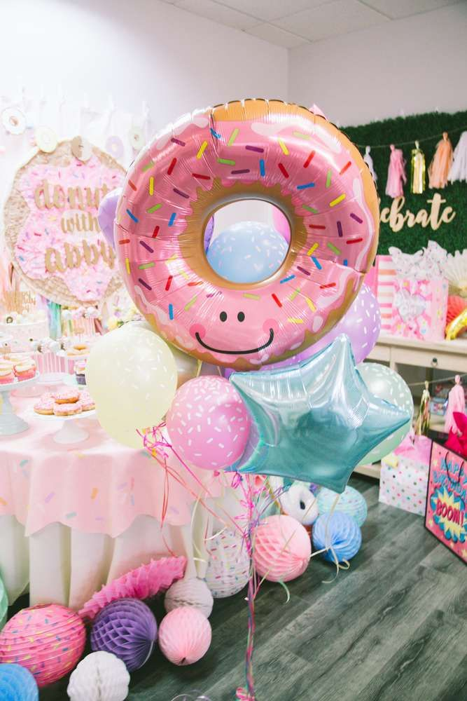 Donuts With Abby Catchmypartycom Ideas Para Fiestas