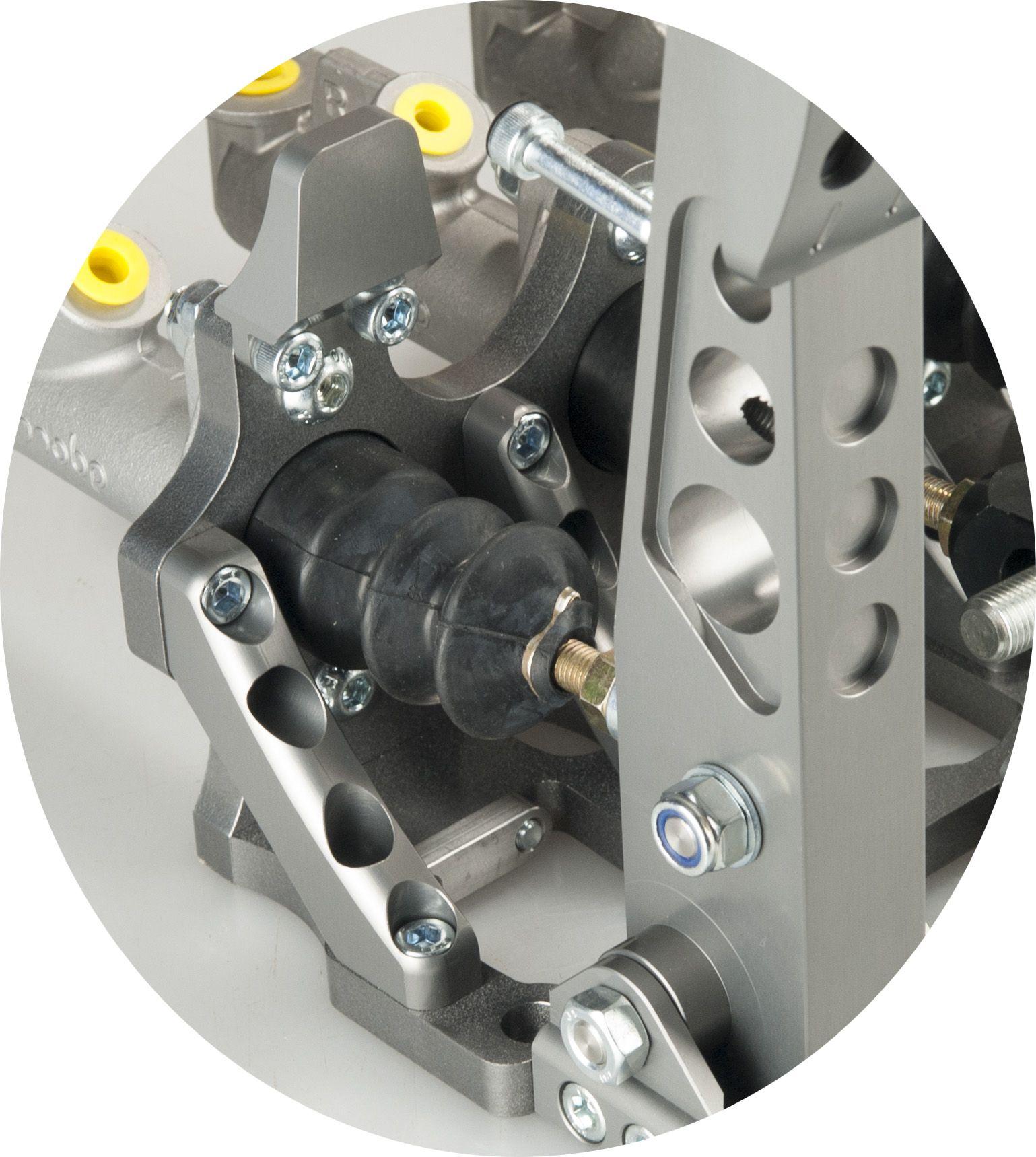 Pro race v3 aluminium billet bias brake pedal box assemblies and the pro drift