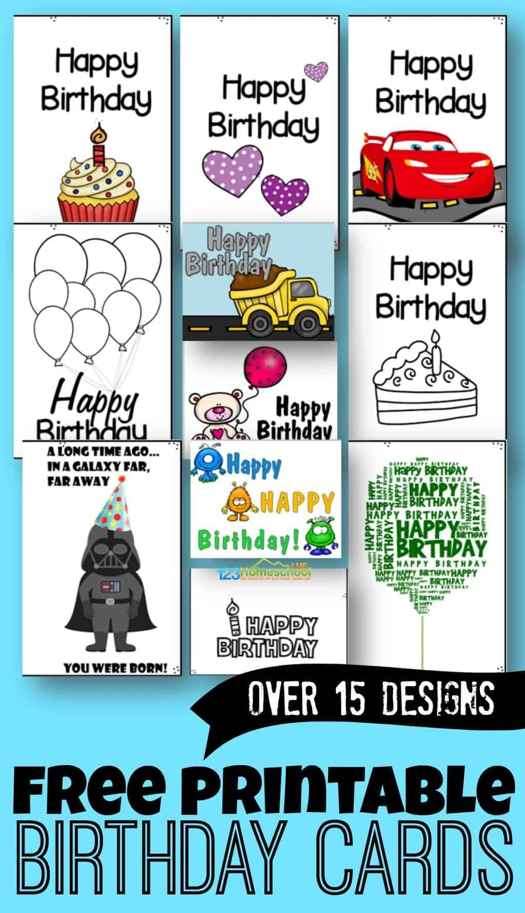 Pin By Tahni Miles On Arts Happy Birthday Cards Printable Free Printable Birthday Cards Birthday Cards To Print