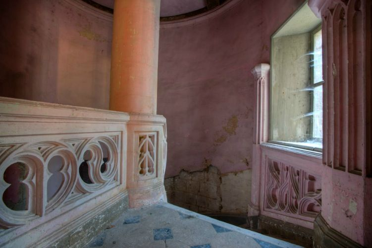 The ill-fated Abandoned French Chateau: Before & After (article via link)