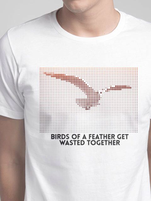 Birds of a feather get wasted together by DRtshirts on Etsy https://www.etsy.com/listing/228652680/birds-of-a-feather-get-wasted-together