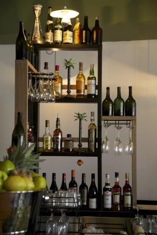 Wine Storage | Rose Diner and Bar & Wine Storage | Rose Diner and Bar | Moms Home Bar | Pinterest | Wine ...