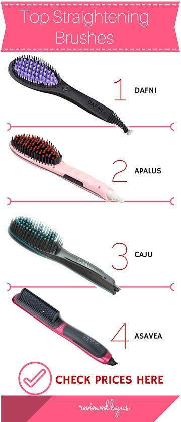 9 Best Hair Straightening Brush Models Expert Reviews Hair Brush Straightener Straightening Brush Hair Straightner