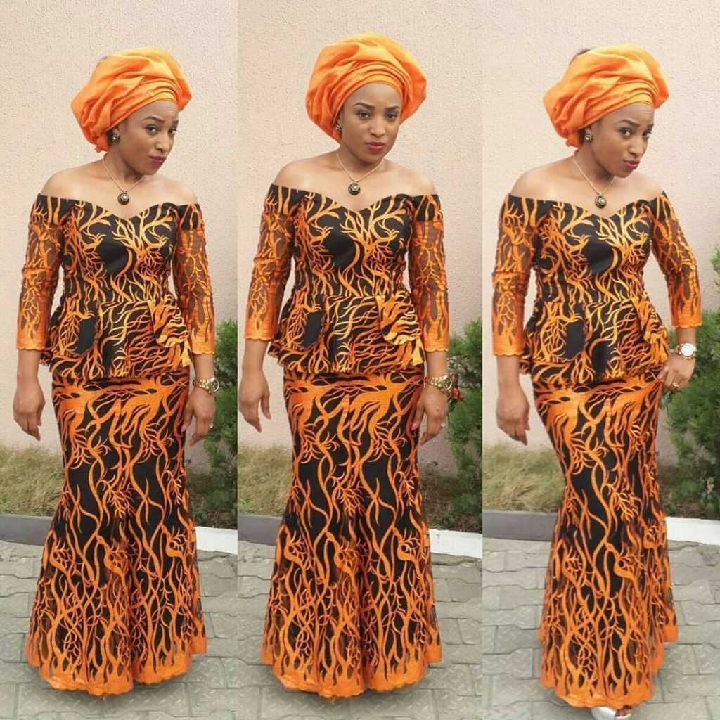 Creative Aso Ebi Skirt and Blouse Style | couture | Pinterest ...