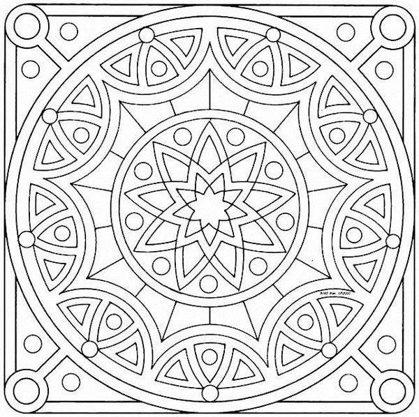 "iColor ""Mandalas""  600x598"