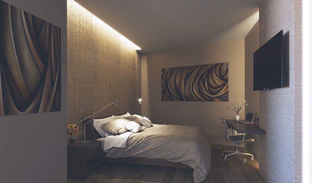 25 Stunning Bedroom Lighting Ideas   Modern bedroom, Unique