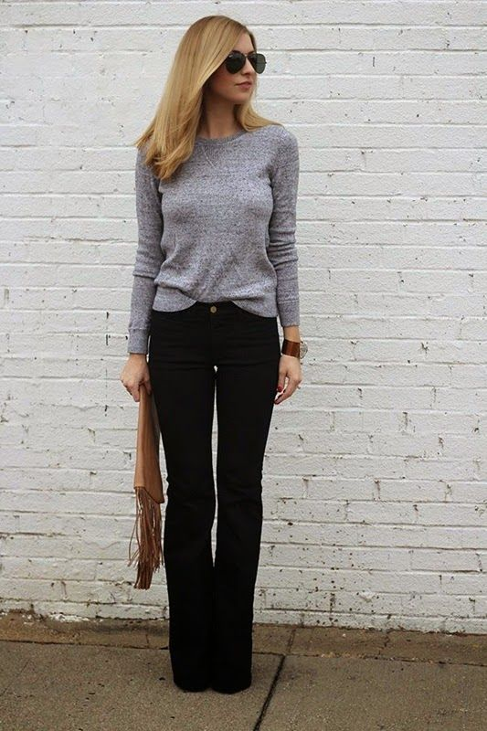 Outfit Ideas for wearing Flares | Style I adore | Pinterest ...