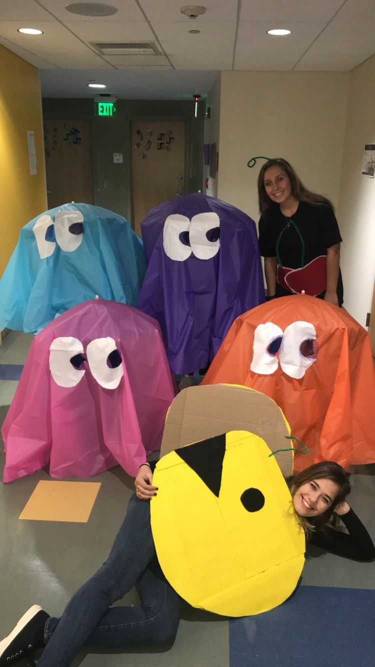 Make your own pacman costume