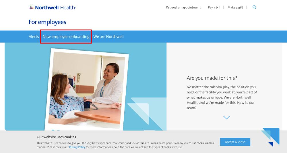 ess.northwell.edu Northwell Health Employee Self Service