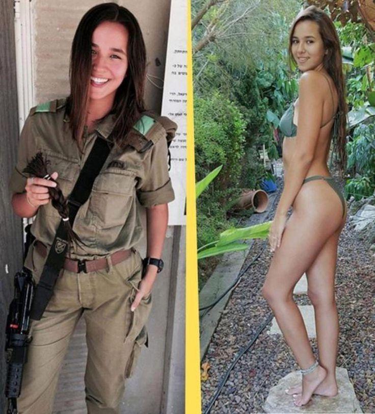 - Израильские девушки-военные в форме и без - новый хит Instagram