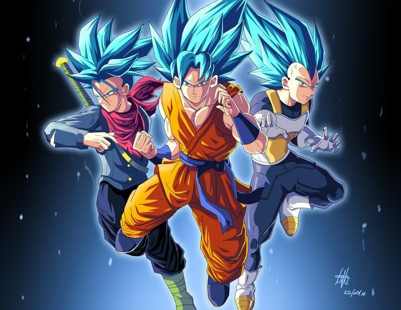 Trunks Goku And Vegeta Ssj Blue By Kakarotoo666 On Deviantart Goku Blue Wallpaper Blue Wallpapers Goku And Vegeta Blue wallpaper goku and vegeta