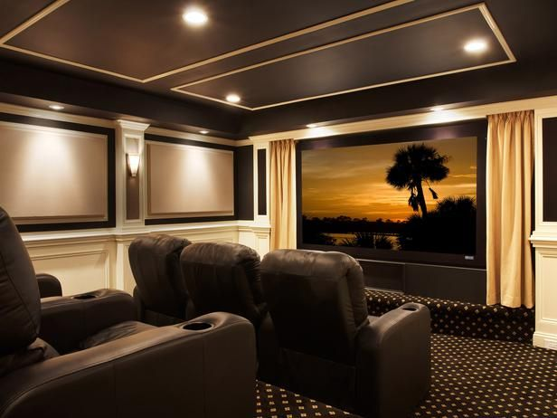 thinking we will definitely have some pretty sconces and wall treatment similar to this. The curtains next to big tv look pretty cool too.