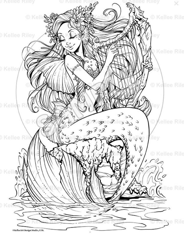 Pin Von Patricia Iannone Auf 1kellee Riley Kelleeart Skizzen Zeichnen Meerjungfrau Tattoos Meerjungfrau Bilder