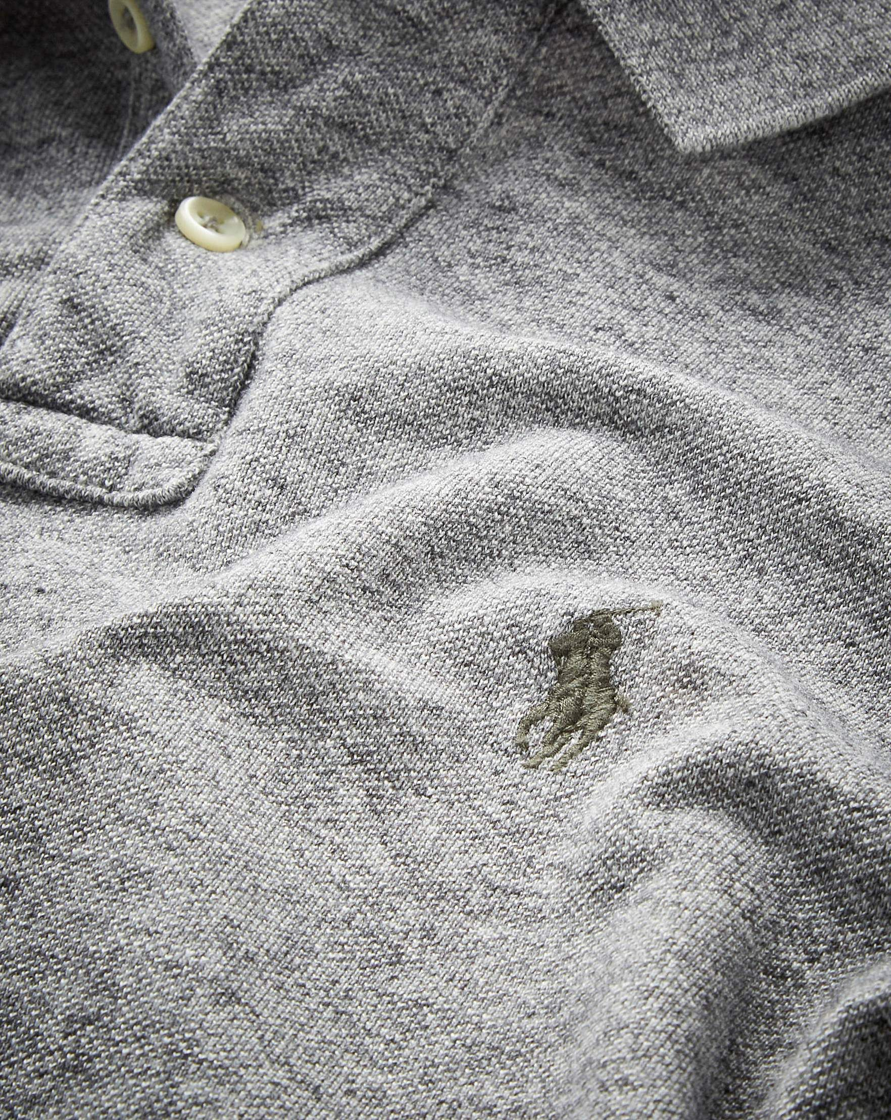 Mesh fabric polo ralph lauren close-up   How to Identify a Genuine Polo by 92e92886dc07f