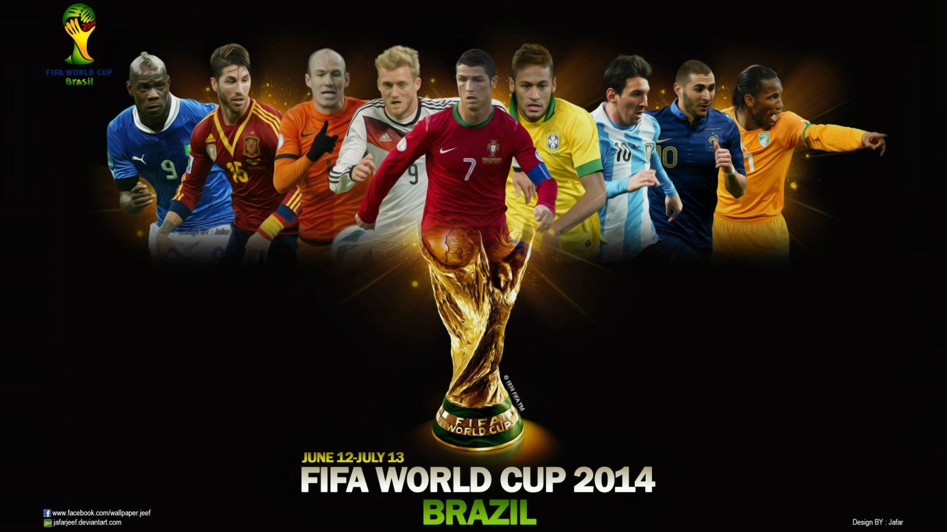 all football players in fifa world cup 2014 brasil photo
