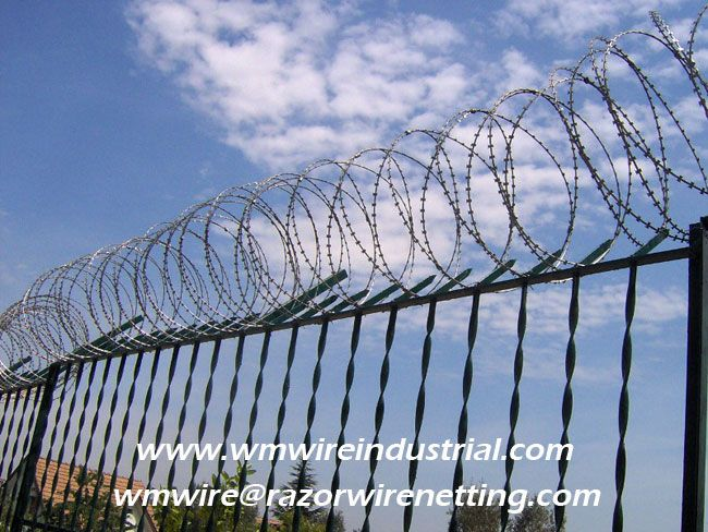 Pin by WM Wire Industrial on Concertina Razor Wire High Security ...
