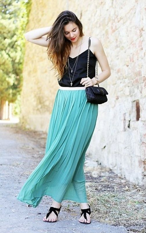 Beautiful Mint Maxi Skirt | Henna Mehndi Designs | Pinterest ...
