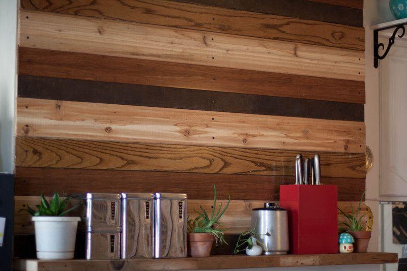 Wood board wall Home Inspiration Pinterest Chimeneas y