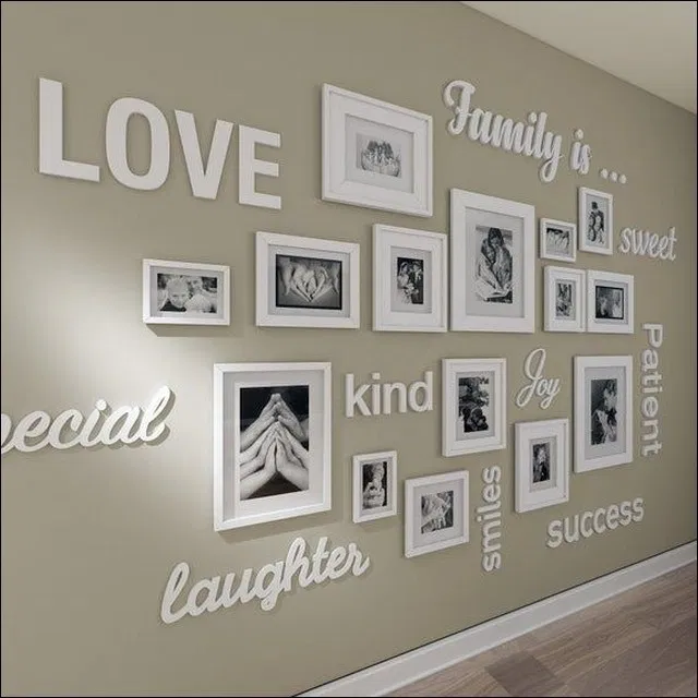 45 Unusual Picture Frame Wall Decorating Ideas On A Budget You