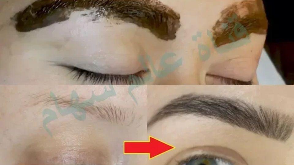 لن تستعملي قلم رسم الحواجب بعد اليوم وصفة فعالة لتكثيف الحواجب بمكون واحد فقط Beauty Care Hair Beauty Short Bob Hairstyles