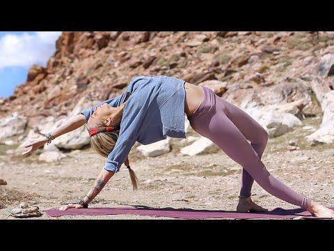 boho beautiful  youtube yoga for beginners easy 20