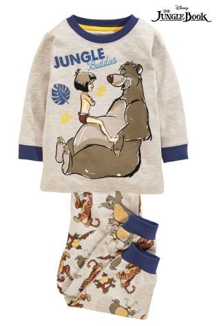 9c2d1e7be Buy Navy Jungle Book Pyjamas Two Pack (9mths-6yrs) from the Next UK online  shop