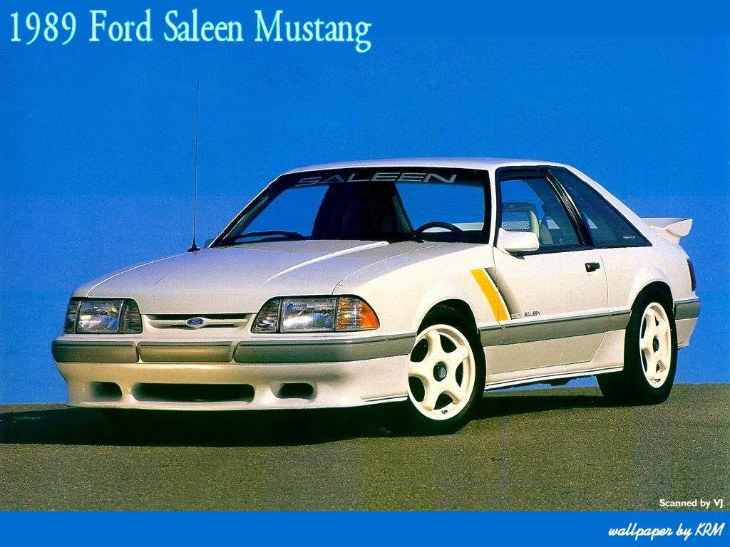 1989 Saleen Mustang Fox Body Mustang Saleen Mustang Fox Mustang