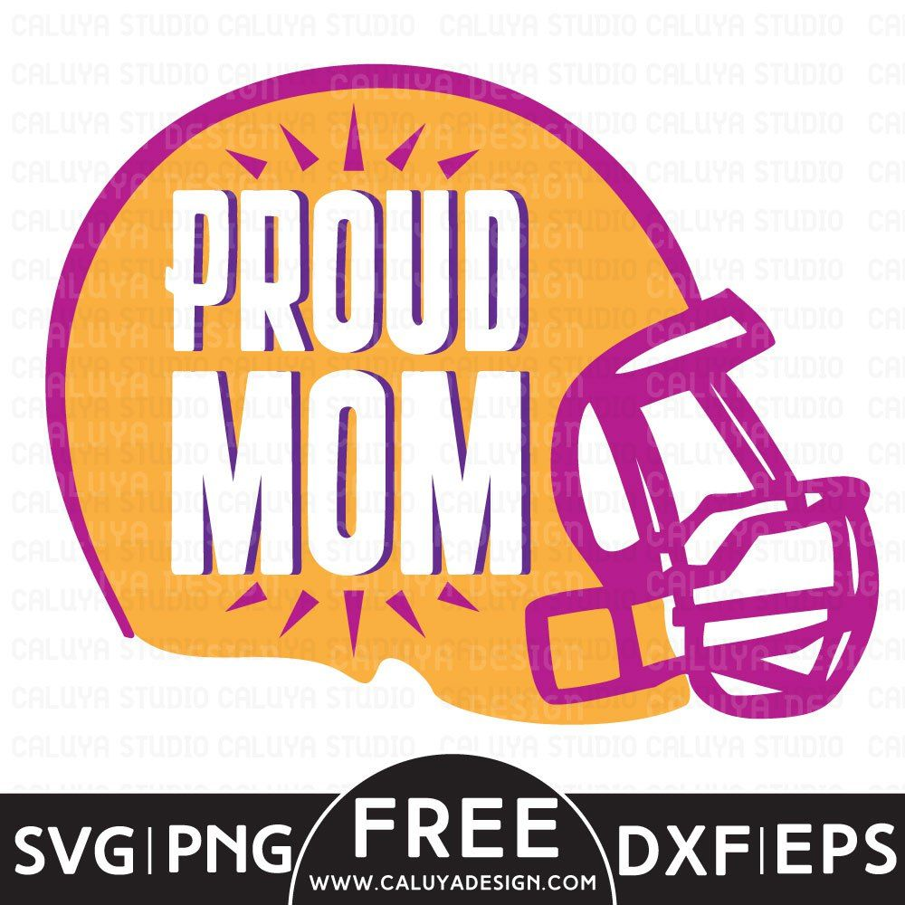 Football Mom Free SVG, PNG, EPS & DXF Download Cricut