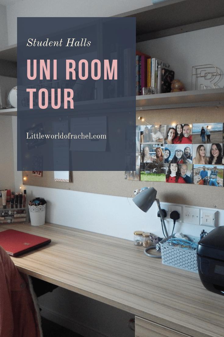 University Room Tour Student Hall Little World Of Rachel Bristol Accommodation Personal Statement