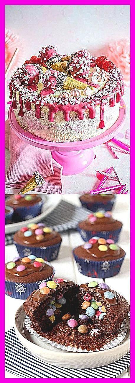 Photo of Absolute Mädchen-Torte zum Geburtstag: Die Torte ist gefüllt mit einer Himbeer…