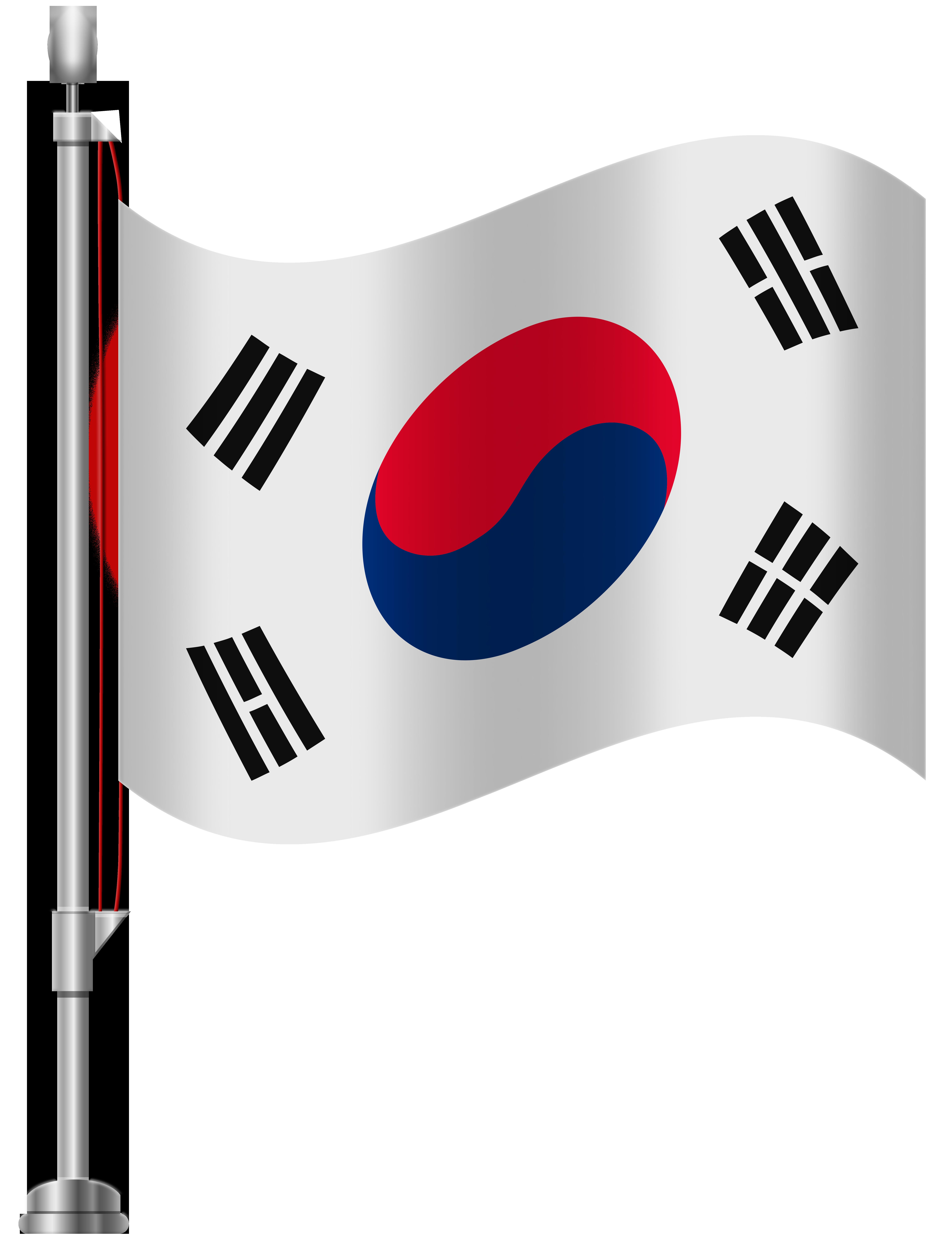 South Korea Flag Png Clip Art South Korea Flag Flag Korea