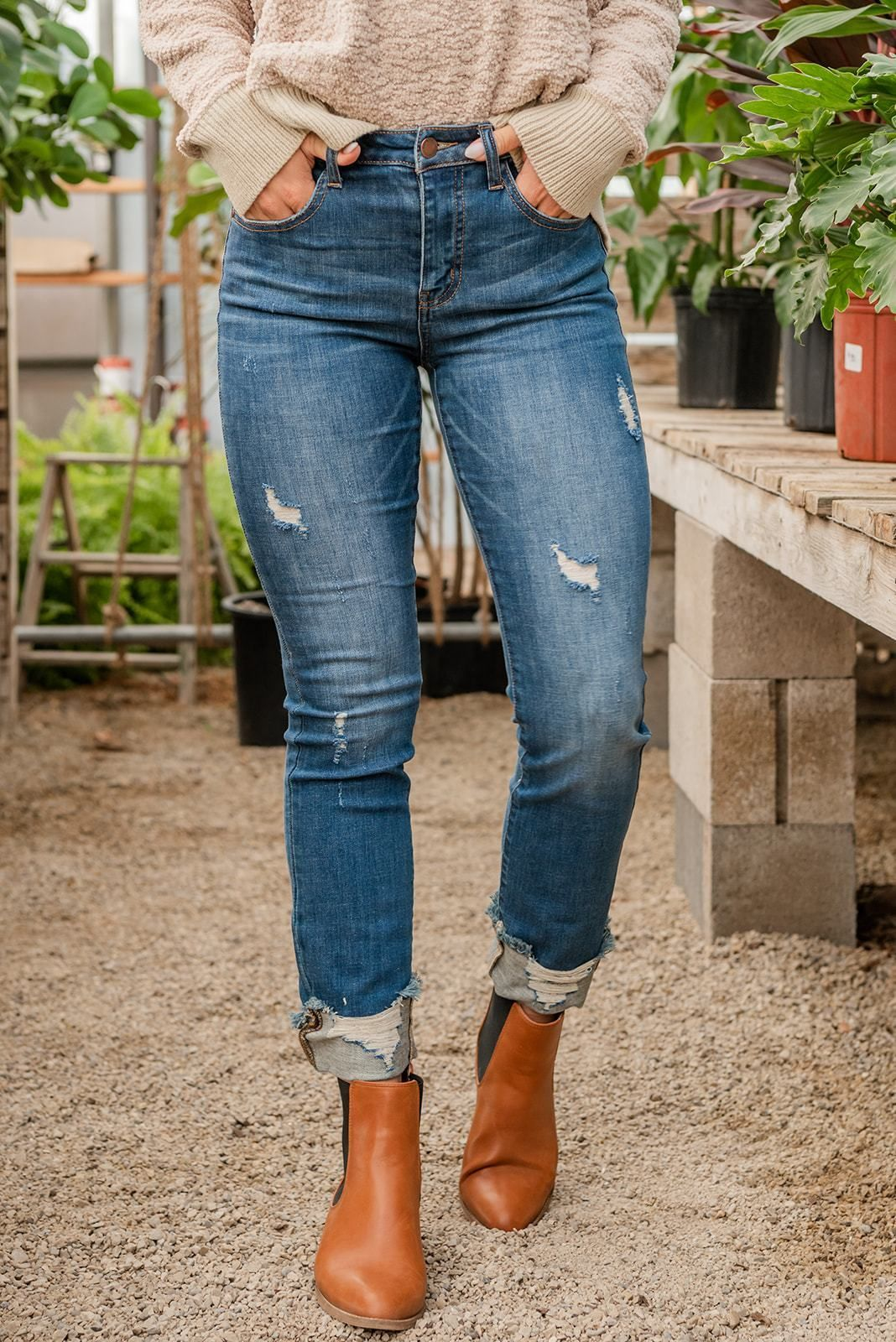 26+ Fall Is Calling Cuffed Jeans   5