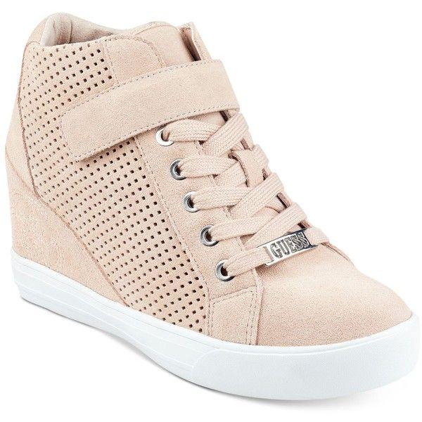 Guess Women's Decia Wedge Sneakers ($70