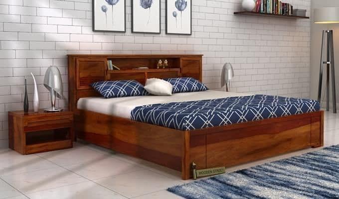 Best Buy Ferguson Hydraulic Bed King Size Honey Finish 400 x 300