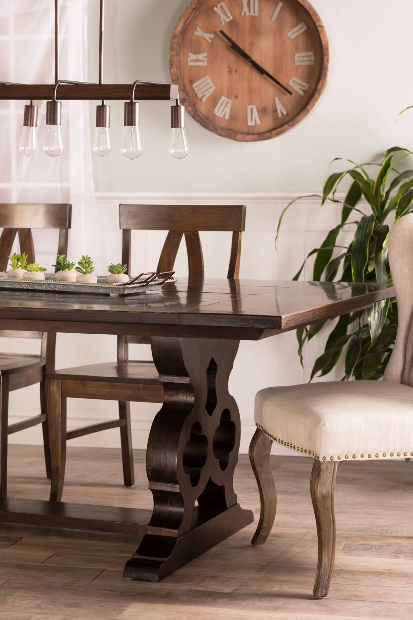 The Handcrafted Solid Wood Grand Carved Pedestal Table Is A Stunning Center Piece In Any Home Furniture Design Your On Our Website