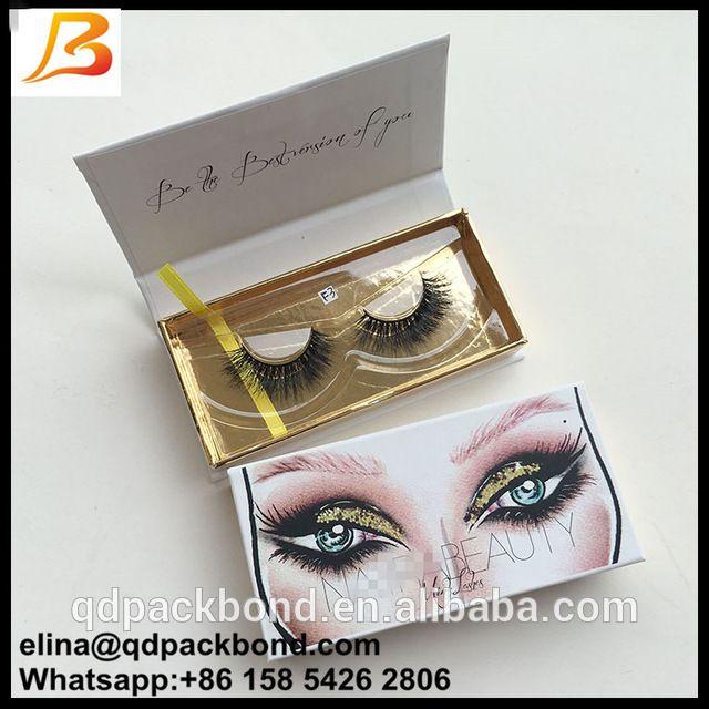 a78349ac666 Source Qingdao Supplier Wholesale Custom Logo Paper Cardboard Private Label False  Eyelash Packaging Box on m.alibaba.com