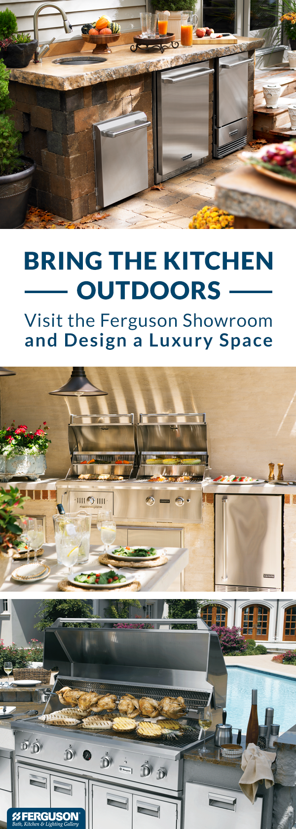 At Ferguson Bath, Kitchen & Lighting Gallery, we have everything you