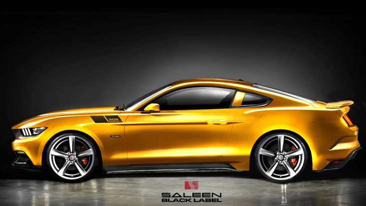 Mustang Dorado >> Ford Mustang Shelby Gt350 Rendering Rear Side View New Ford Muscle